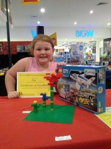 Alexis 2nd Place Junior Final Lismore Shopping Square Jan 2016