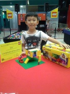 Nathan 2nd Place Junior Section Aspley Hypermarket