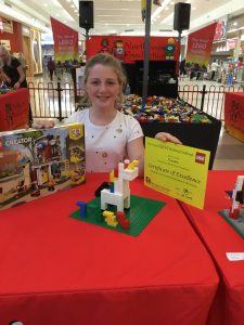 Claudia 2nd Place Senior Final The Great LEGO Building Challenge Windsor Riverview July 2019