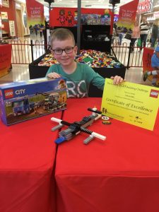 Lachlan 2nd Place Junior Final The Great LEGO Building Challenge Windsor Riverview July 2019