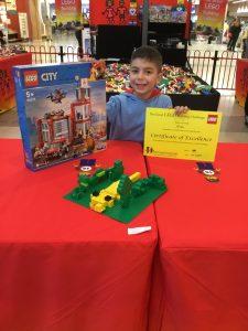 Noah 1st Place Junior Final The Great LEGO Building Challenge Windsor Riverview July 2019