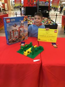 Noah 1st Place Junior Final The Great LEGO Building Challenge Windsor Riverview July 2019