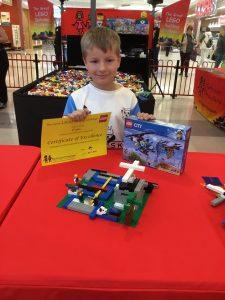Elijah 3rd Place Junior Final The Great LEGO Building Challenge Windsor Riverview July 2019